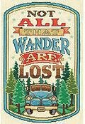 All That Wander - Cross Stitch Kit
