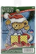 Bear Christmas Ornament - Plastic Canvas Kit