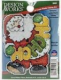 Ho Ho Santa Christmas Ornament - Plastic Canvas Kit