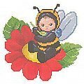 Bumblebee Baby - Cross Stitch Pattern