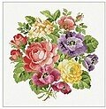 Flower Bouquet - Cross Stitch Pattern