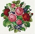 Romantic Bouquet - Cross Stitch Pattern