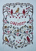 Winter - Cross Stitch Pattern