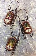 Snow Country Sleds - Sled Ornament - Cross Stitch Pattern