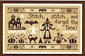 Stitch Stitch Stitch & Forget the Time - Cross Stitch Patter