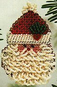 Curly Ho Ho 2004 - Beaded Cross Stitch Kit