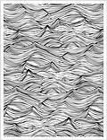 Waves Background - Cling Rubber Stamp