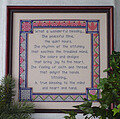 What a Wonderful Blessing - Cross Stitch Pattern