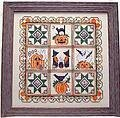 Halloween Quilt - Cross Stitch Pattern