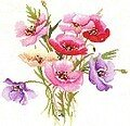 Poppy Posy - Cross Stitch Pattern