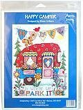 Happy Camper - Cross Stitch Kit
