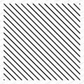 Diagonal Stripes - Cling Rubber Stamp