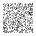 Sketched Roses Background - Cling Rubber Stamp