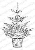 Christmas Tree - Cling Rubber Stamp