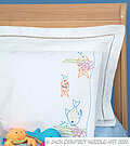 Fish At Play Pillowcase - Embroidery Kit