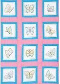 "Butterflies 9"" Quilt Block Themes - Embroidery Kit"