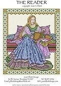 Reader, The - Cross Stitch Pattern