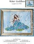 Water Goddess - Cross Stitch Pattern
