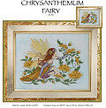 Chrysanthemum Fairy - Cross Stitch Pattern