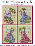 Petite Christmas Angels - Cross Stitch Pattern