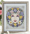 Spring Goddess - Cross Stitch Pattern