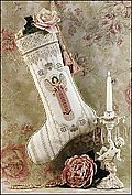 Angel Stocking - Cross Stitch Pattern