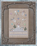 It's Snowing Men (w/embellishments) - Cross Stitch Pattern
