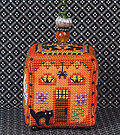 Witchy Pumpkin Cottage w/embellishments