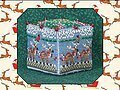 8 Tiny Reindeer Cube - Cross Stitch Pattern
