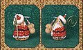 Gingerbread Santa Mouse Limited Edition Cross Stitch Pattern