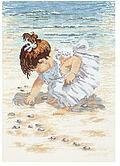 Collecting Shells - Cross Stitch Kit