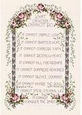 What Cancer Cannot Do - Cross Stitch Kit