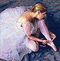 Ballerina Beauty - Cross Stitch Kit