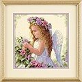 Passion Flower Angel - Cross Stitch Kit