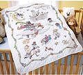 Mary Engelbreit Mother Goose Crib Cover - Cross Stitch Kit