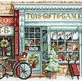 Toy Shoppe (Christmas) - Cross Stitch Kit