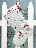 Snow Bears Christmas Stocking - Cross Stitch Kit
