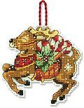 Reindeer (Christmas Ornament) - Cross Stitch Kit