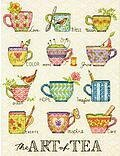 The Art Of Tea - Cross Stitch Kit