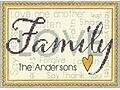 Family - Cross Stitch Kit