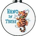 Hang In There Learn-A-Craft Beginner Cross Stitch Kit