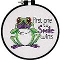 First One to Smile Learn-A-Craft - Beginner Cross Stitch Kit