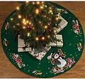 Candy Snowman Tree Skirt Felt Applique Kit