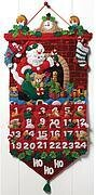 Must Be Santa Advent Calendar - Felt Applique Kit