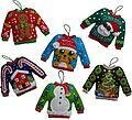 Ugly Sweaters - Christmas Felt Applique Kit
