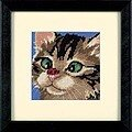 Cross-Eyed Kitty - Needlepoint Kit