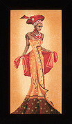African Fashion I - Cross Stitch Kit