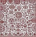 Scarlet Ribands - Cross Stitch Pattern