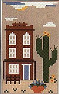 Sea to Shining Sea - The Southwest - Cross Stitch Pattern