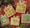 Tiny Tidings XX - Cross Stitch Pattern